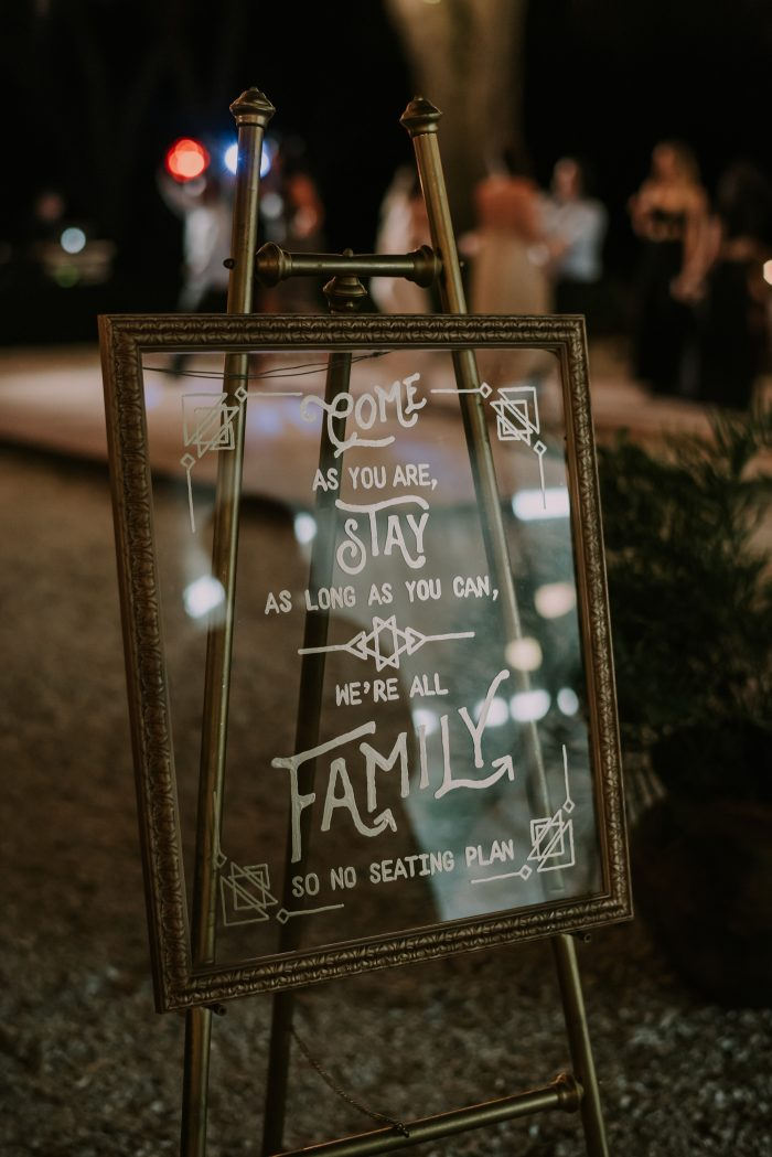 Clever  Punny Wedding Sign Ideas for Every Part of Your Day