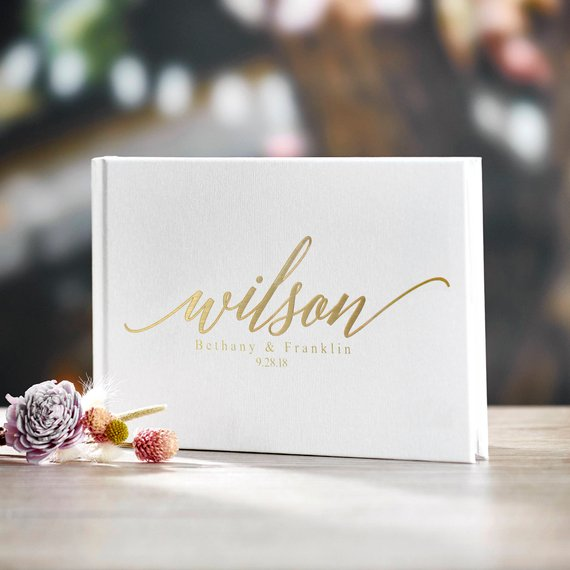 The Best Etsy Wedding Guest Books Junebug Weddings
