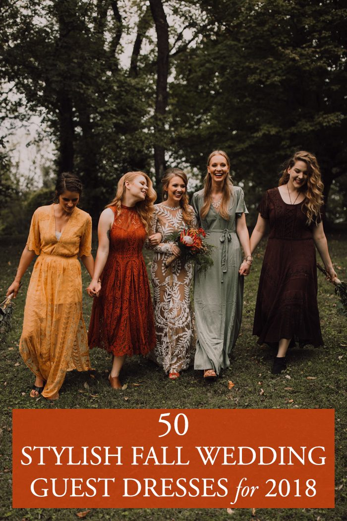 50 Stylish Fall Wedding Guest Dresses for 2018 Junebug Weddings