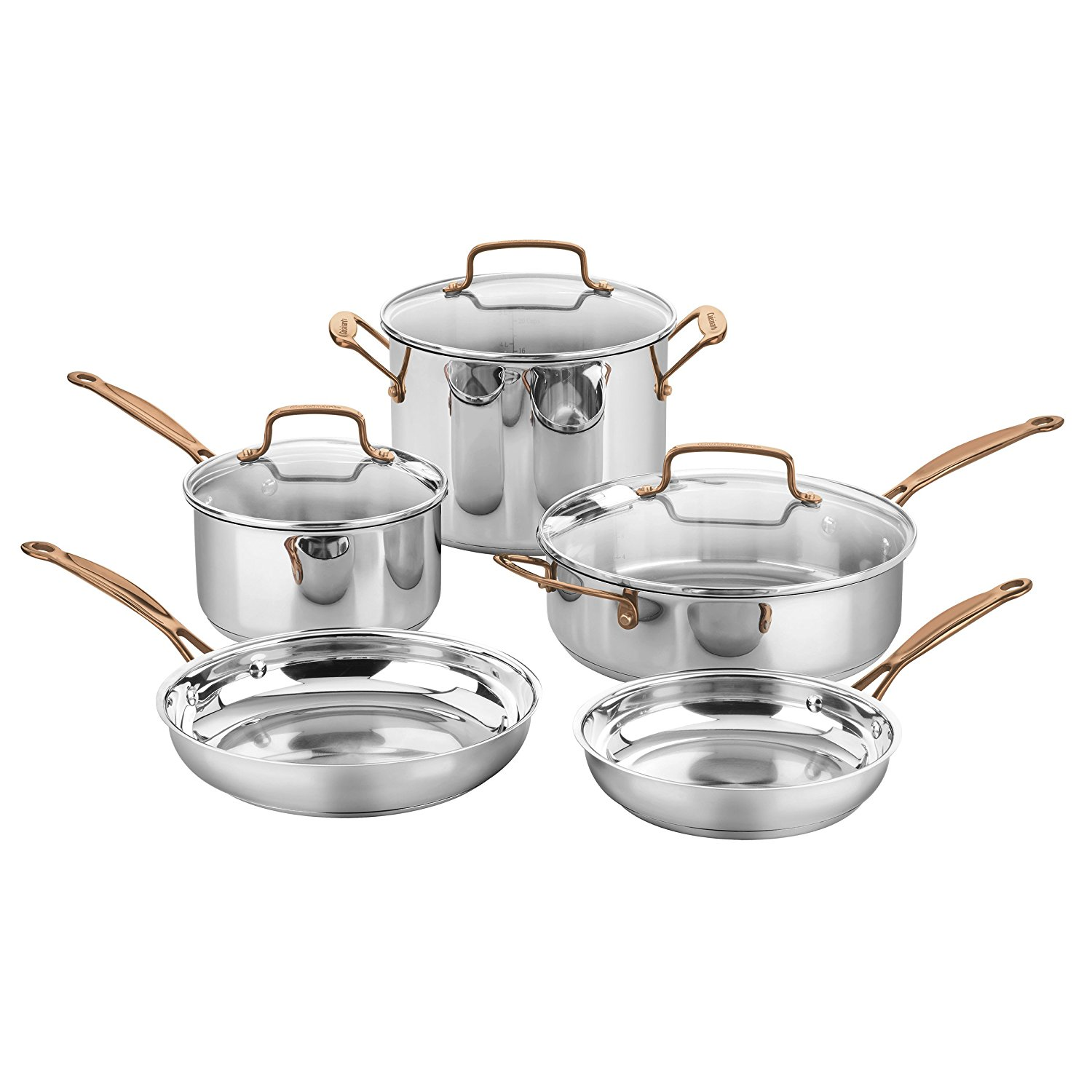 Amazon Cuisinart Stock Pot Deals And Steals Cuisinart 8 Pc Cookware Set Save 70