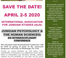 JUNGIAN PSYCHOLOGY & THE HUMAN SCIENCES: AN INTERDISCIPLINARY CONFERENCE