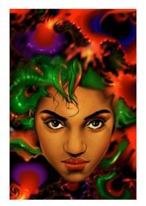 Psychodelic, digital art by Junior Tomlin