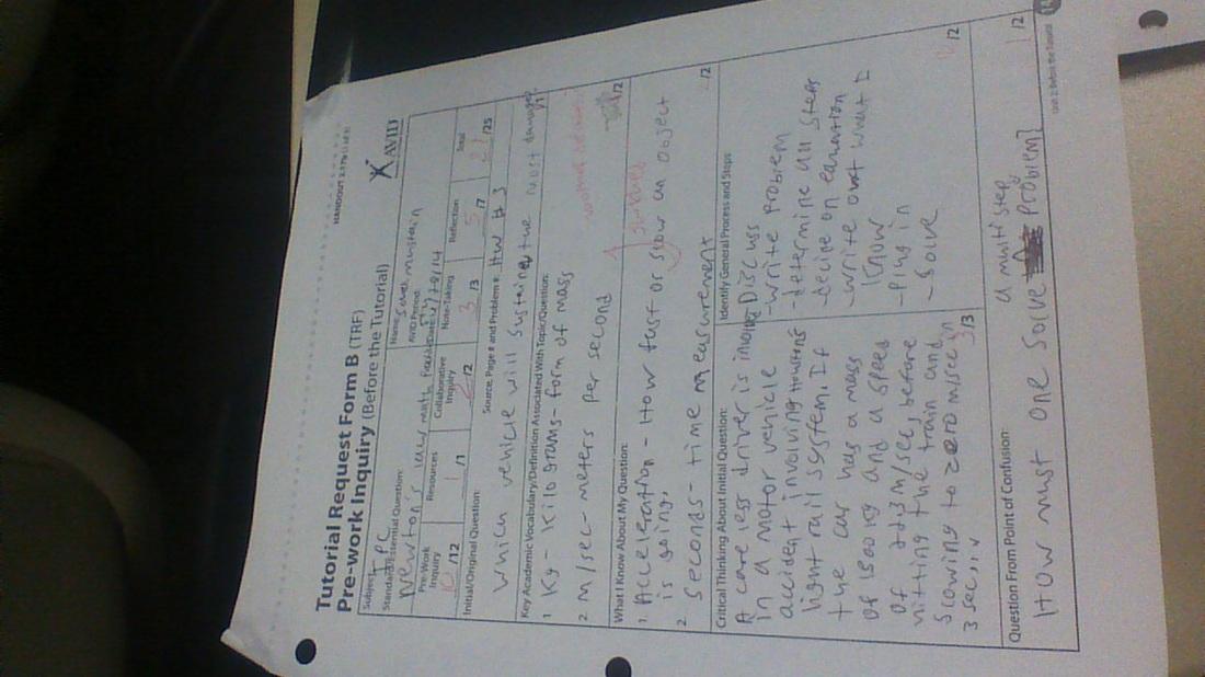 TRF Forms - Sara Mustain\u0027s EPortfolio - avid tutorial request form