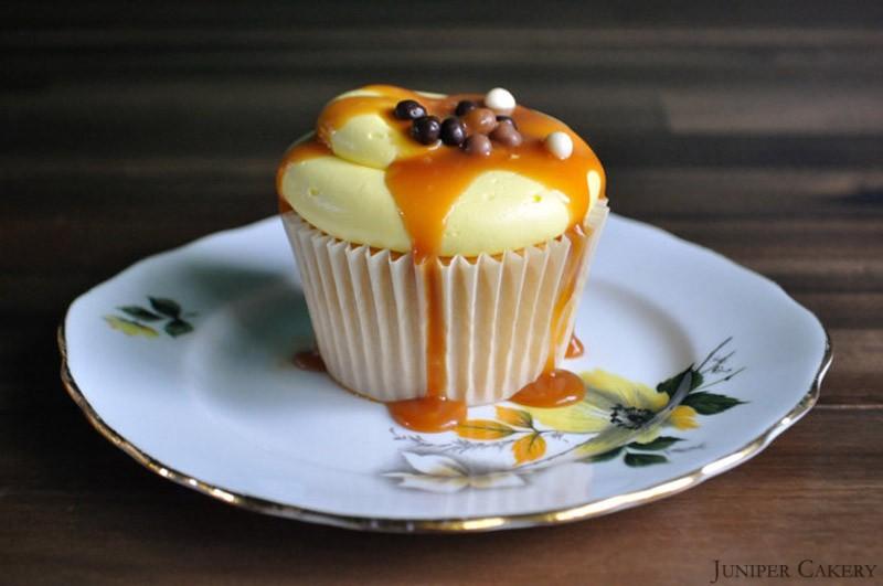 Banoffee Pie Cupcake