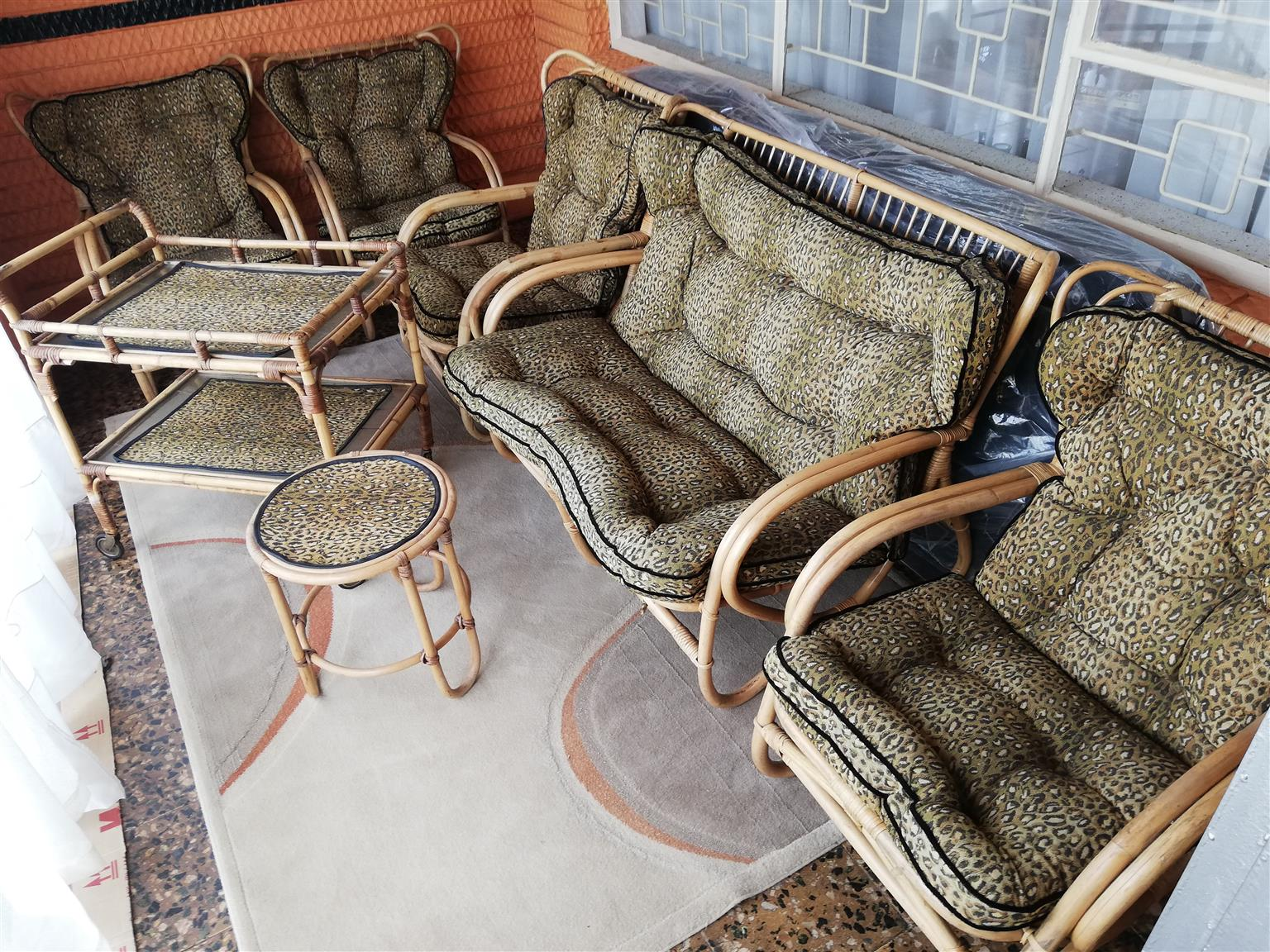 Cane Furniture Lounge Suite Junk Mail