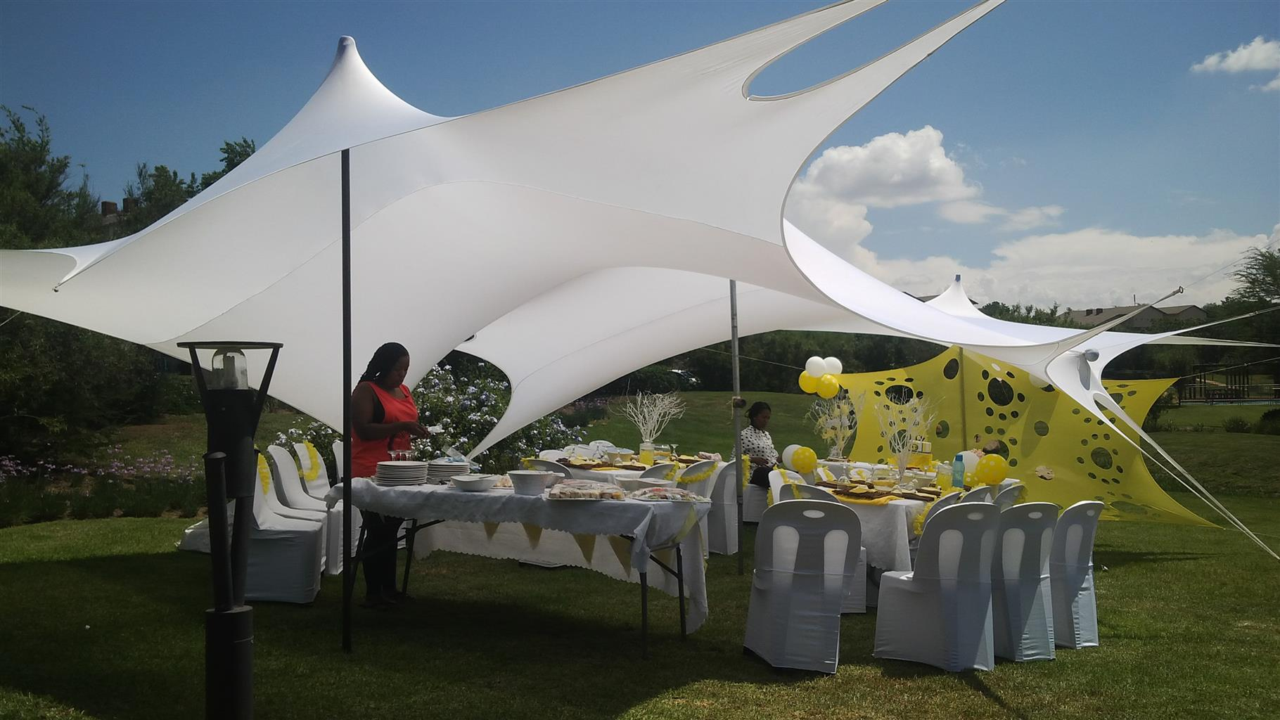 Baby Showerbirthdays Parties Stretch Tents Tables