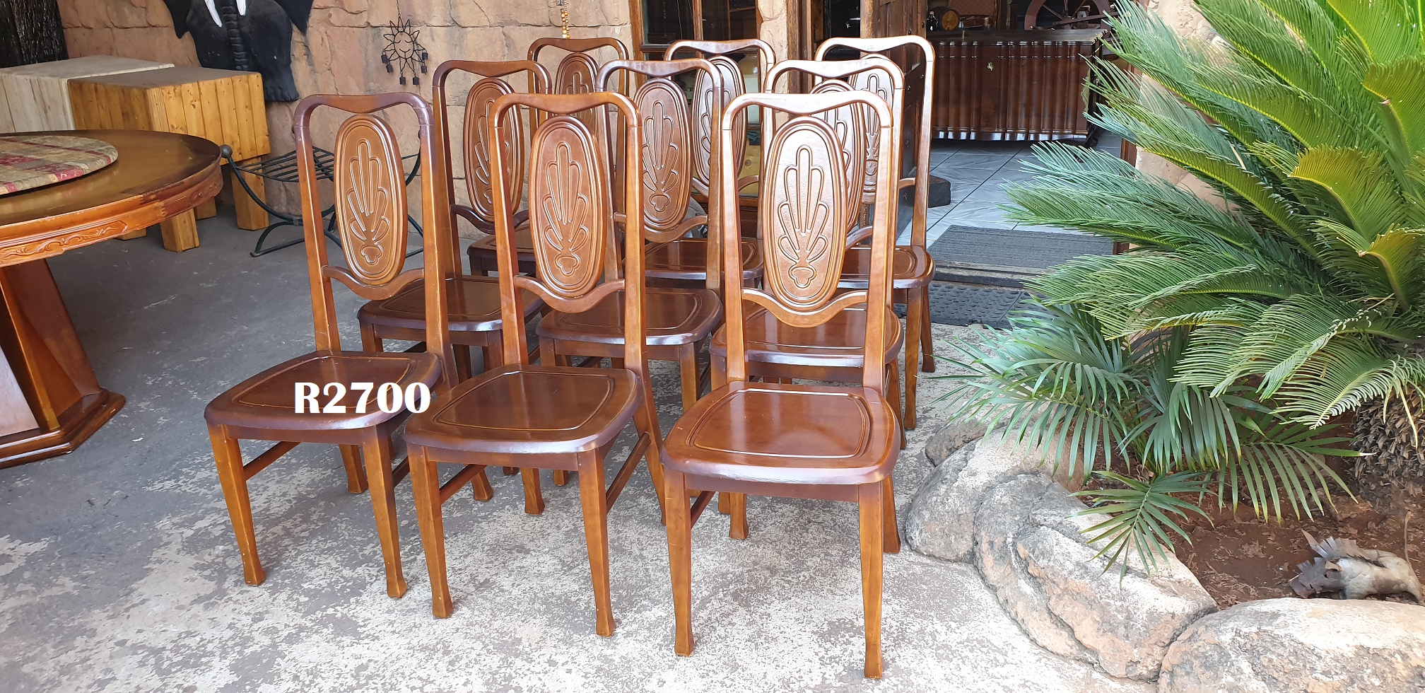 Dining Room Furniture In Pretoria 9 X Classic Dining Chairs Junk Mail