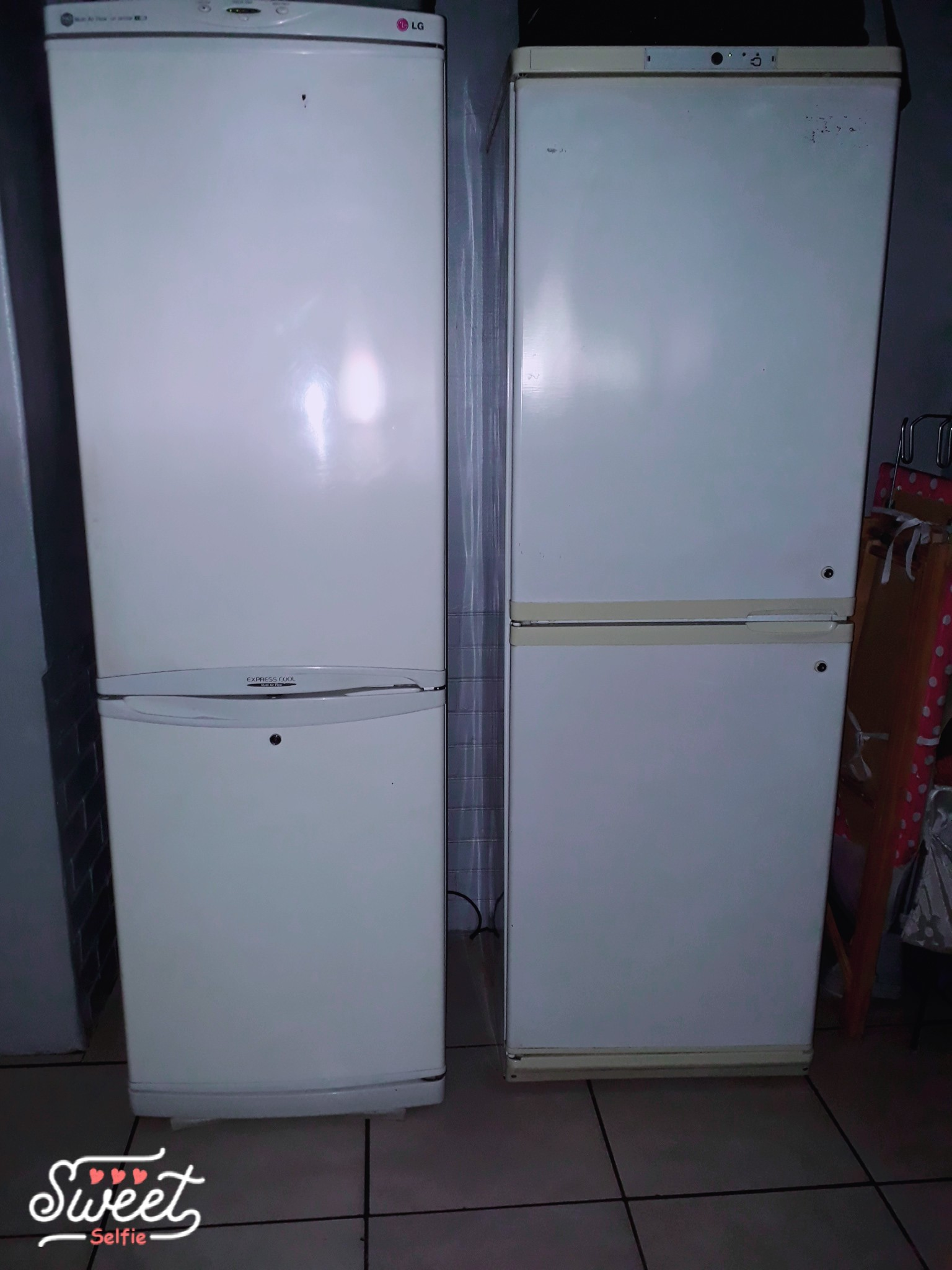 No Frost Lg No Frost Fridge Freezer Double Door Freezer Top Bottom
