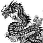 asian dragon tattoo back, juno tattoo designs