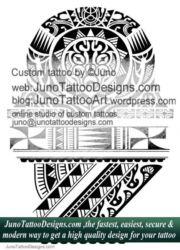 Polynesian samoan tattoo - junotattoodesigns