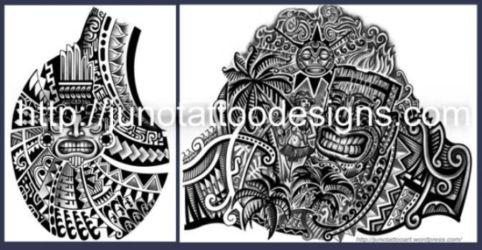 samoan_polynesian custom tattoo
