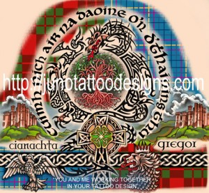 scotish_celtic_half_sleeve_tattoo_design