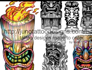 tiki_tattoo_design