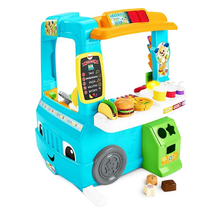 Silla Aprendizaje Fisher Price Fisher Price Ríe Y Aprende Food Truck De Aprendizaje