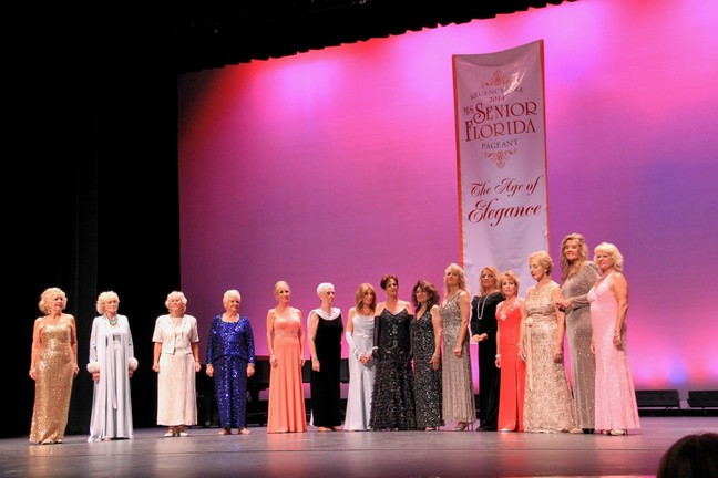 Rene Magnifico at Florida Senior Pageant