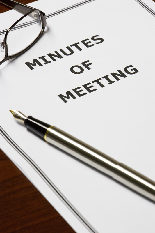 Are summary minutes right for your nonprofit board? - Jurassic
