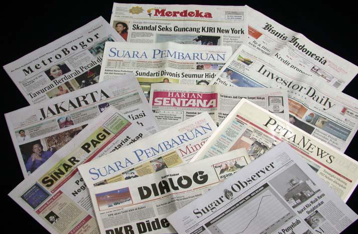 Contoh Berita Di Media Cetak Jawapos Selalu Ada Yang Baru Sejarah Surat Kabar Jurnalistikumsu