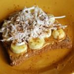 Gourmet Banana Nut Butter Toast