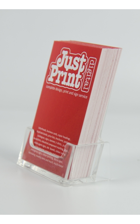 A Single Portrait Business Card Holder - Just Print Digital - portrait business card