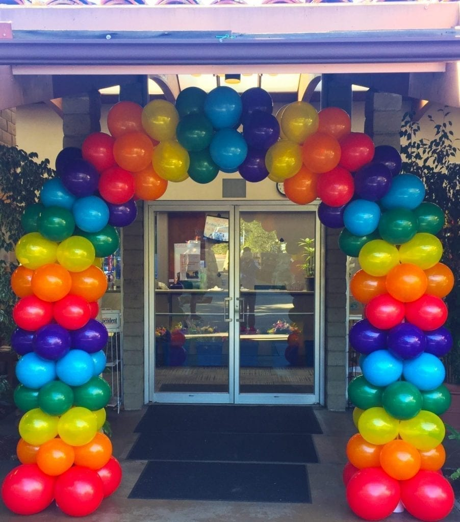 Balloon Column Kit Walmart Balloons Arch Topsimages