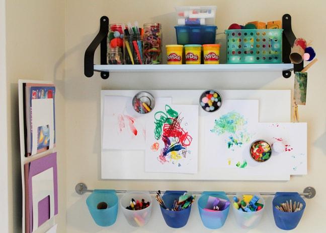 Kids39 Craft Corner Reveal