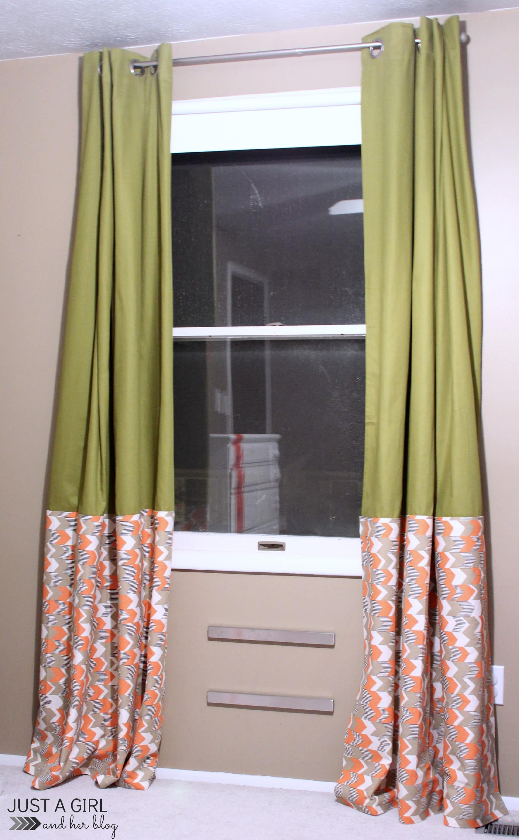 Curtain Ikea Ikea Hack No Sew Curtains Just A Girl And Her Blog