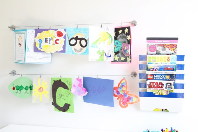 How to Organize Kids\u0027 School Papers Just a Girl and Her Blog