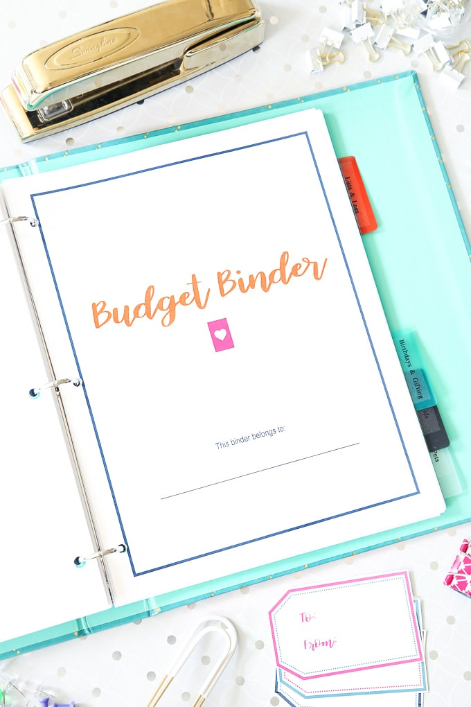 The 2018 Budget Binder - Just a Girl and Her Blog