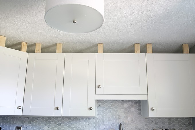 How To Add Crown Molding To Kitchen Cabinets Abby Lawson