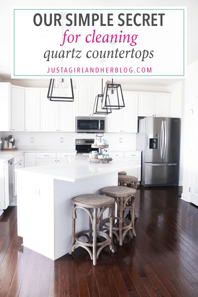 Our Simple Method For Cleaning Quartz Countertops Abby
