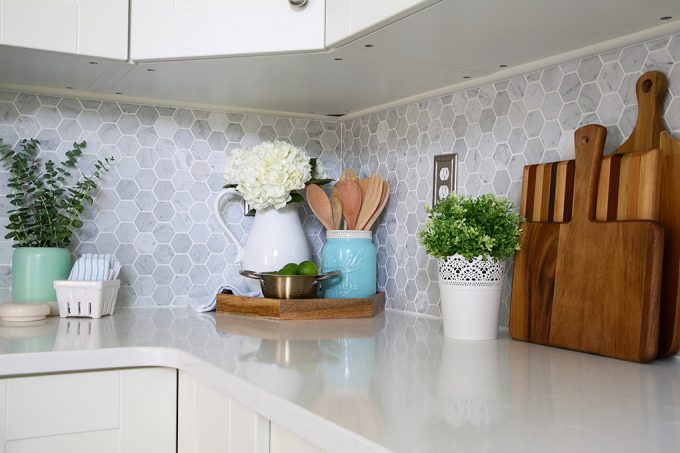 Our Simple Method For Cleaning Quartz Countertops Just A