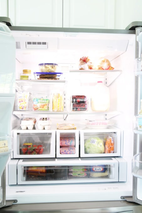 How to Organize the Refrigerator - Just a Girl and Her Blog
