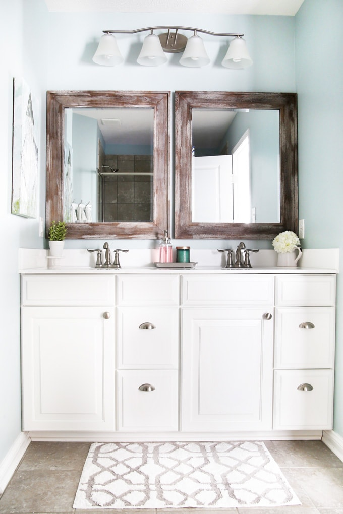 The Easiest Way to Declutter Your Bathrooms (with Free Printable