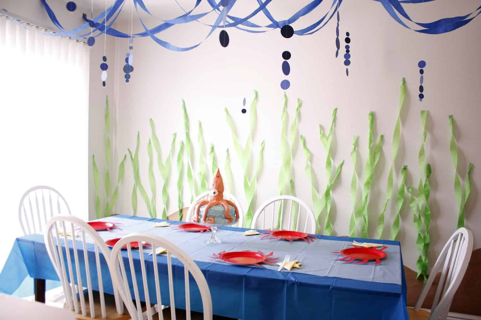 Ocean Theme Decorating Ideas Under The Sea Theme Party Ideas Just A Mum