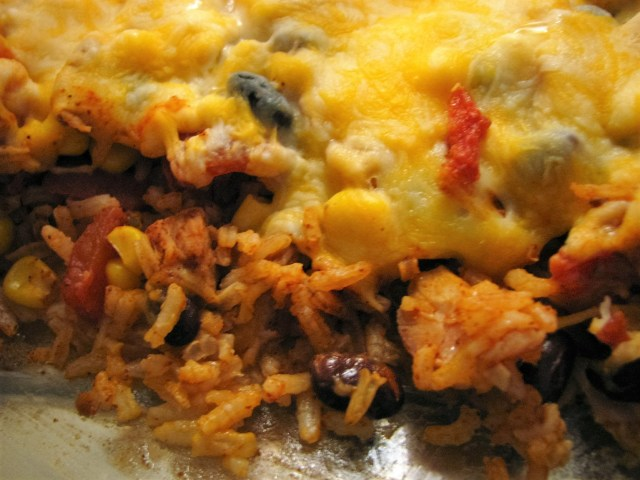 Mexican Chicken Bake