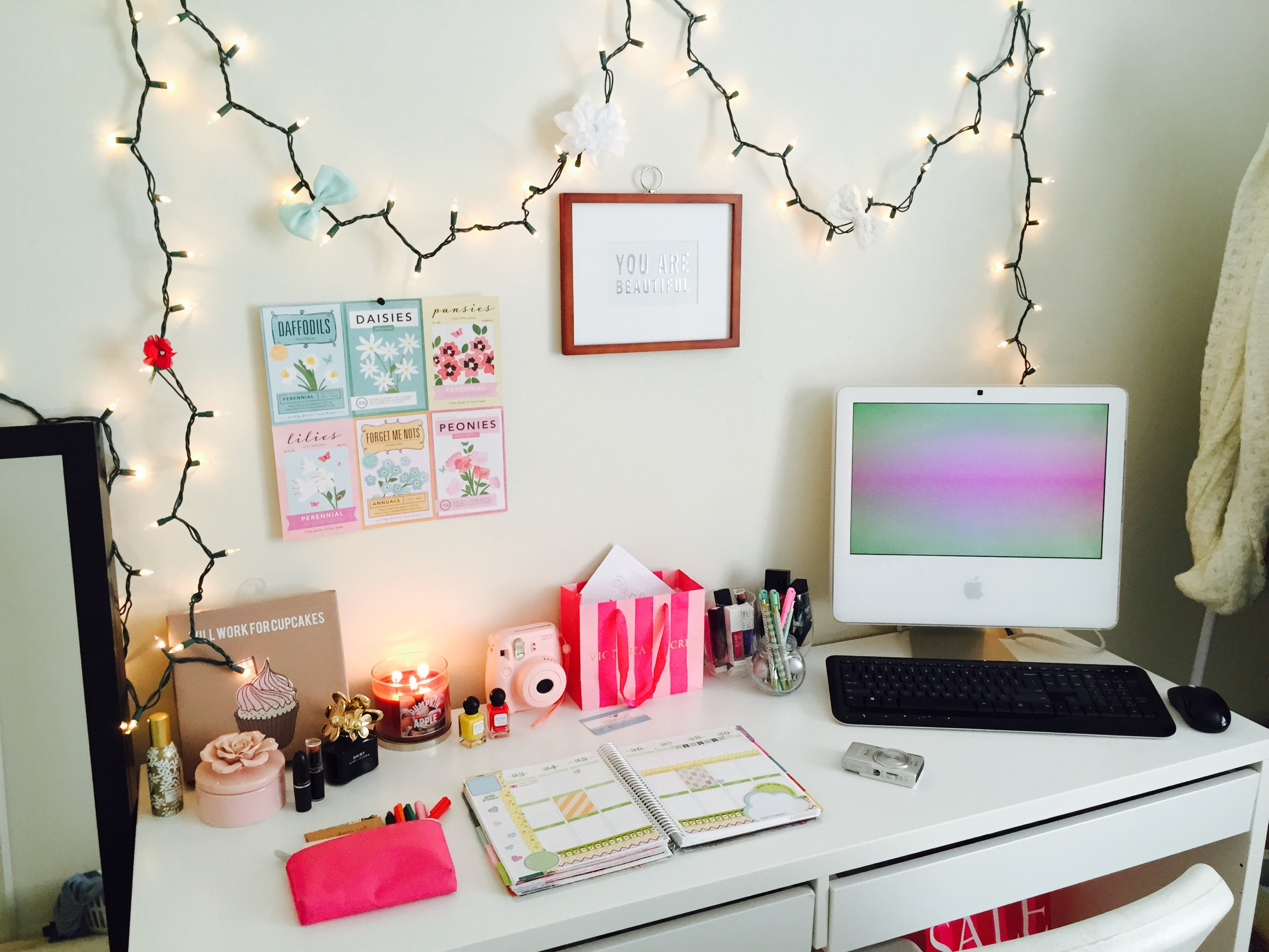 Bedroom Desk Tumblr Desk Decoration Ideas Tumblr Style Yvotube