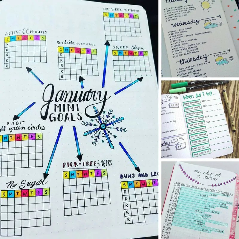 41 Amazing Bullet Journal Weekly Spread Ideas You\u0027ll Lose Your Mind Over