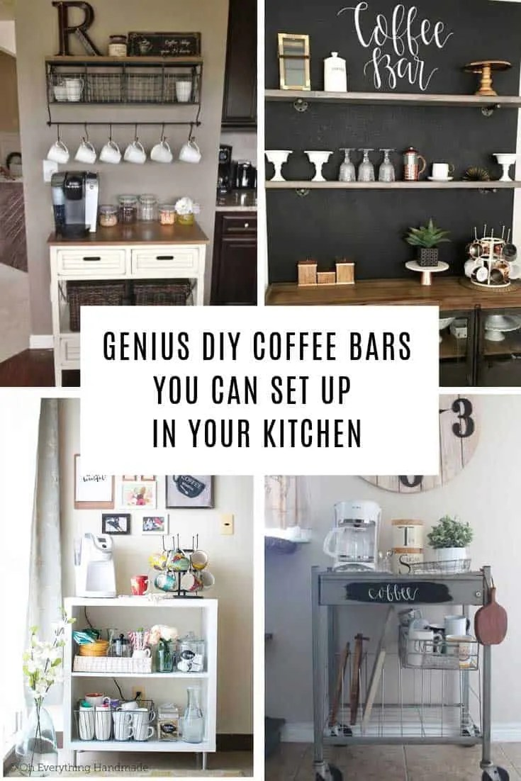 Coffee Station 12 Creative Diy Coffee Station Ideas For The Home