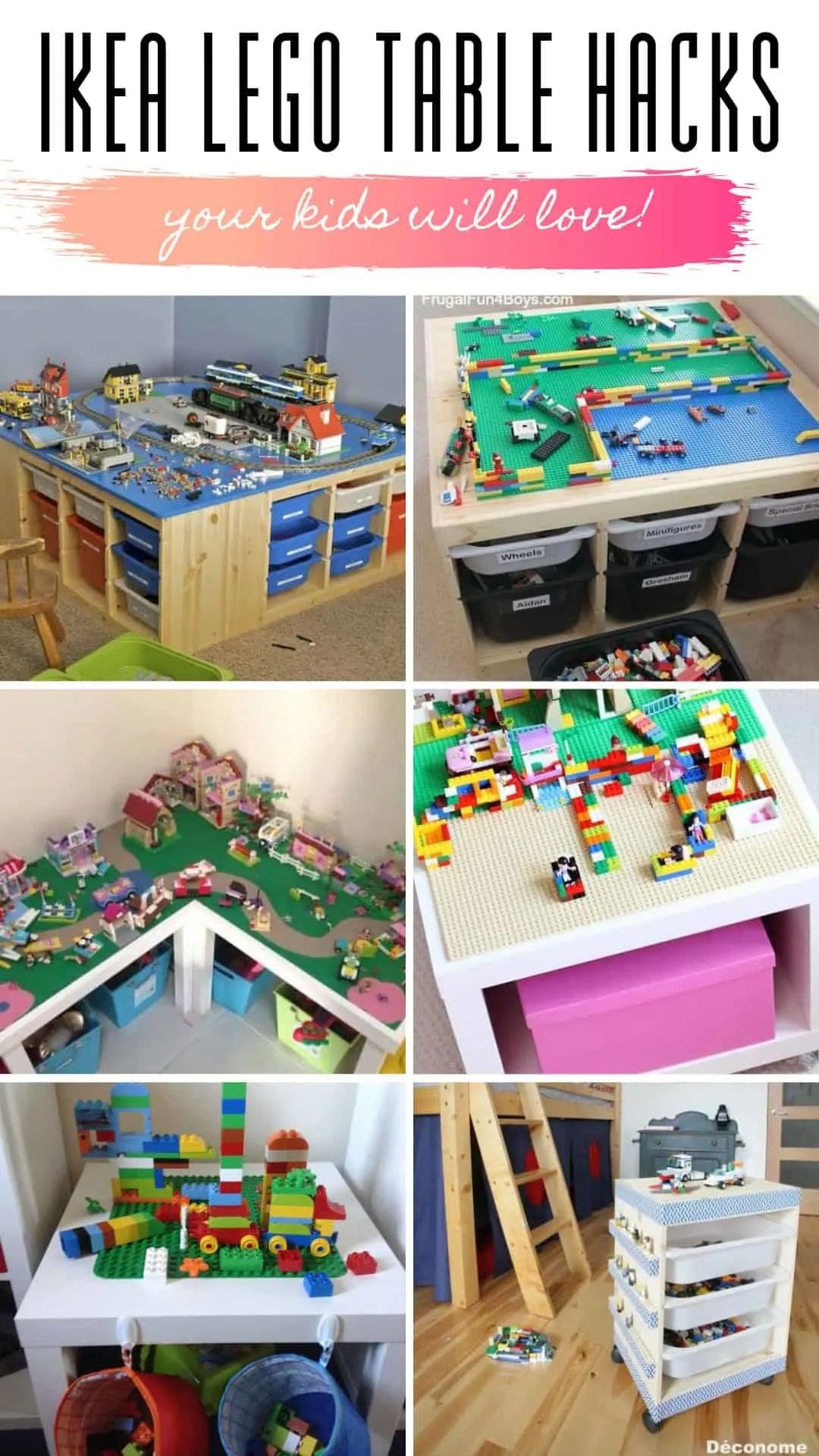 Ikea Expedit Ovet Ikea Lego Table Hacks Your Kids Will Go Crazy Over