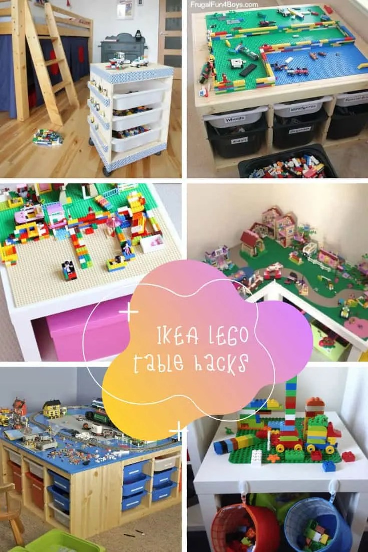 Ikea Lack Duplo Ikea Lego Table Hacks Your Kids Will Go Crazy Over