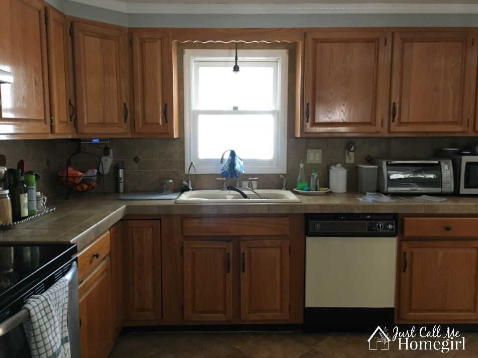 The Easier Way to Paint Kitchen Cabinets