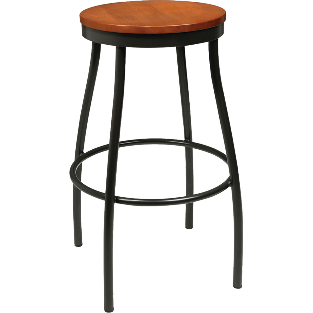 Wood And Metal Bar Stools Barstools Metal Rustic Wood Backless Stool
