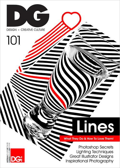 Magazine Cover Design for CG Magazine JUST™ Creative