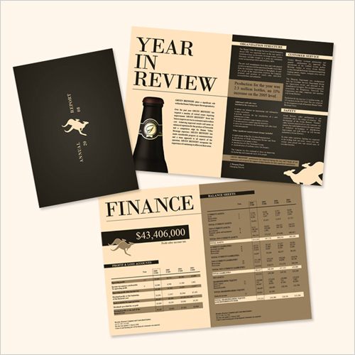 Annual Report Design - The Design Process  Tips JUST™ Creative