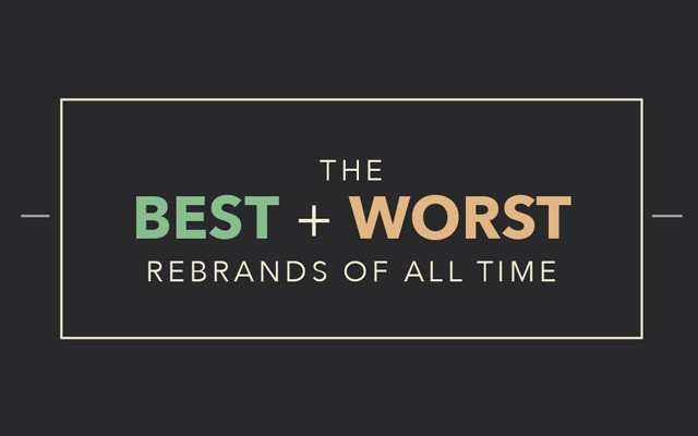 The Best  Worst Rebrands of Recent Times JUST™ Creative