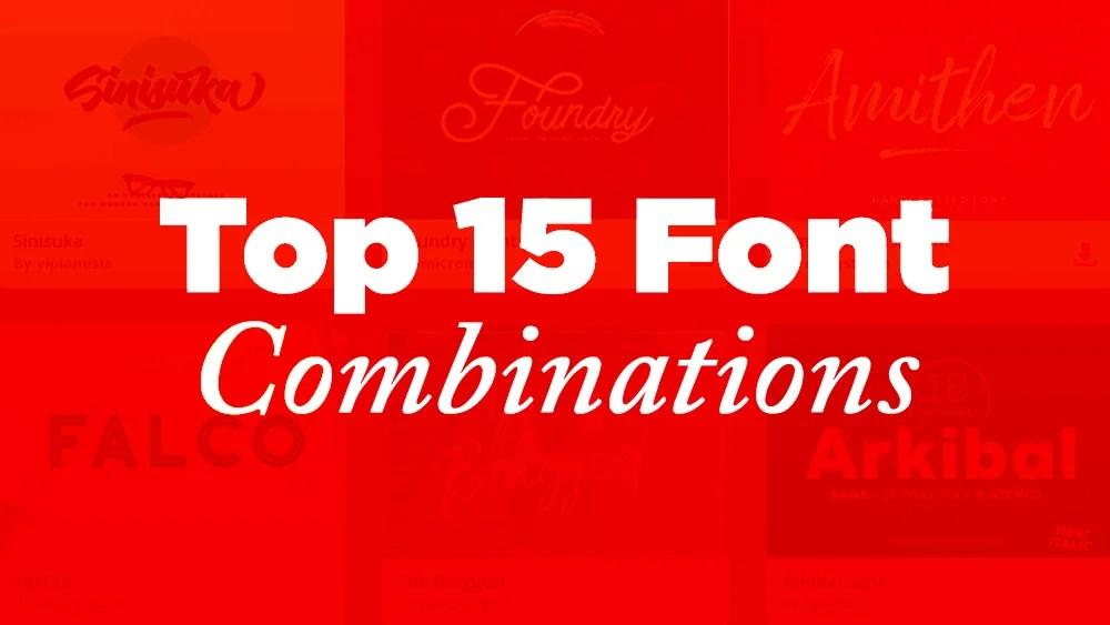 15 Top Google Font Combinations for 2019 JUST™ Creative