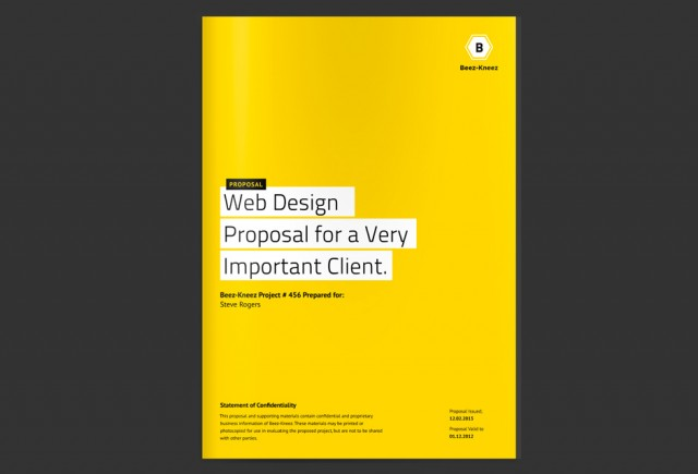 Proposal Cover Page Design Esyndicat – Proposal Cover Page Design