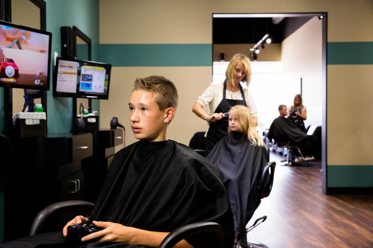 Salon Orientation Just Cut It Gallery Fun Affordable Haircuts In Keller Tx