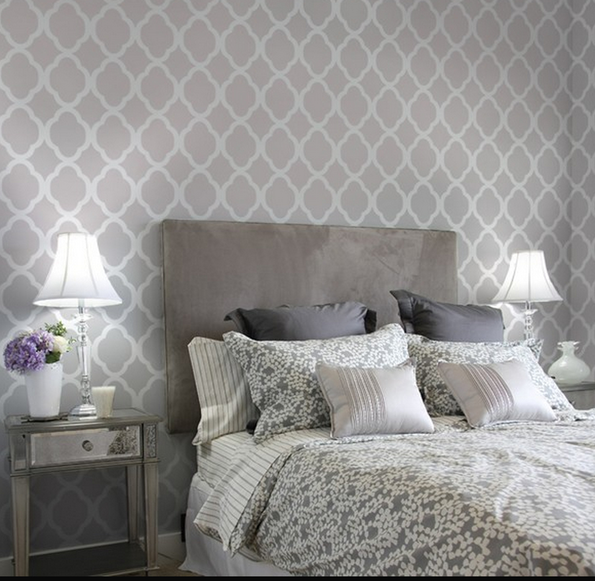 Bedroom Grey Walls Grey On Gray Bedroom Decor Just Decorate