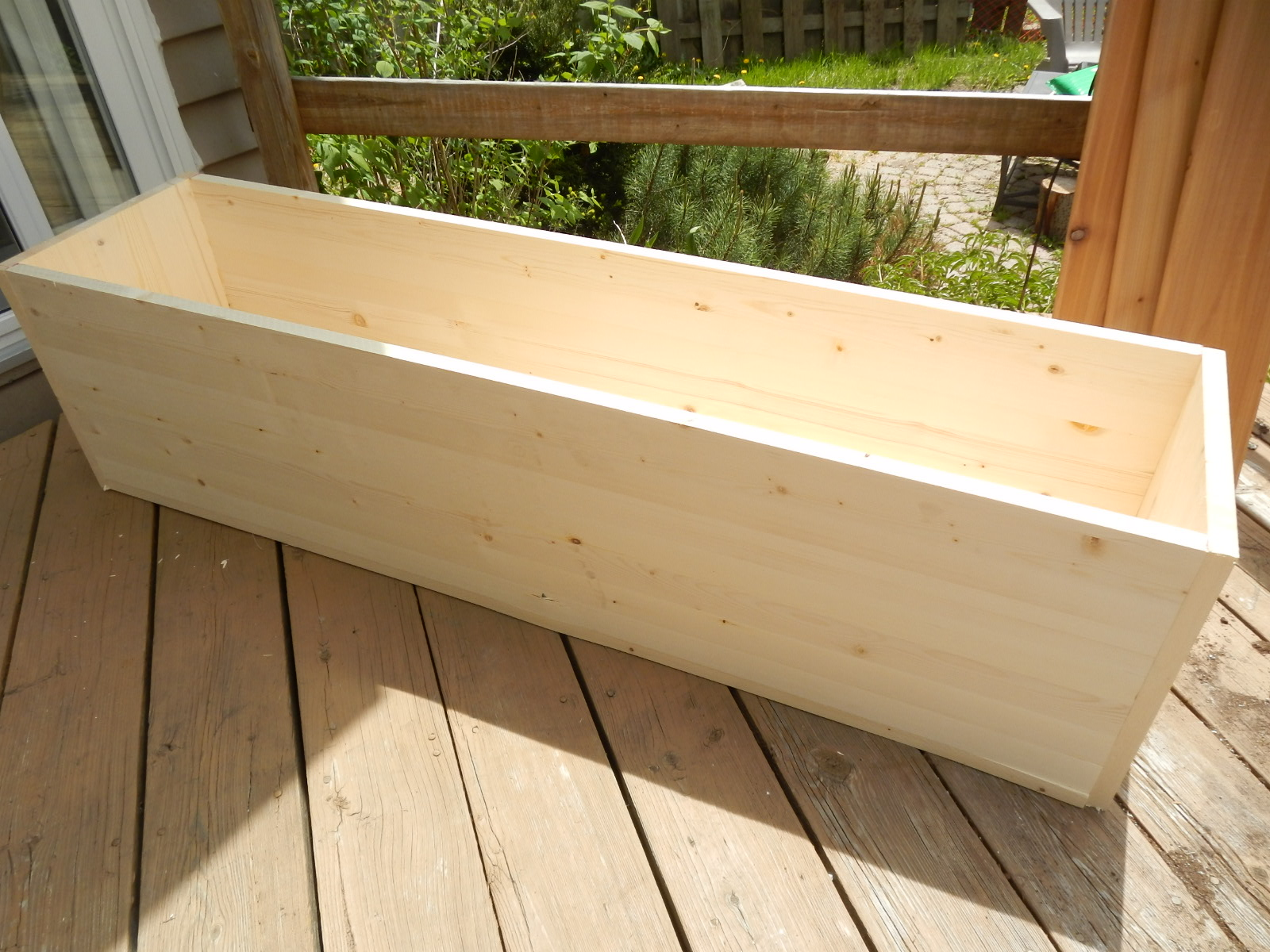 Simple Planters Planting For Privacy Diy Wood Planter Just Decorate